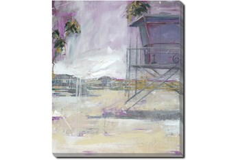 20X24 Lifeguard Tower With Gallery Wrap Canvas
