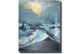 30X40 Abstract Hope In The Dark With Gallery Wrap Canvas