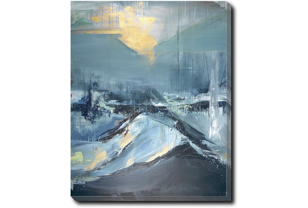 40X50 Abstract Hope In The Dark With Gallery Wrap Canvas