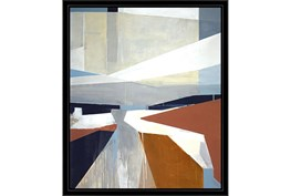 22X26 Diverted Abstract With Black Frame