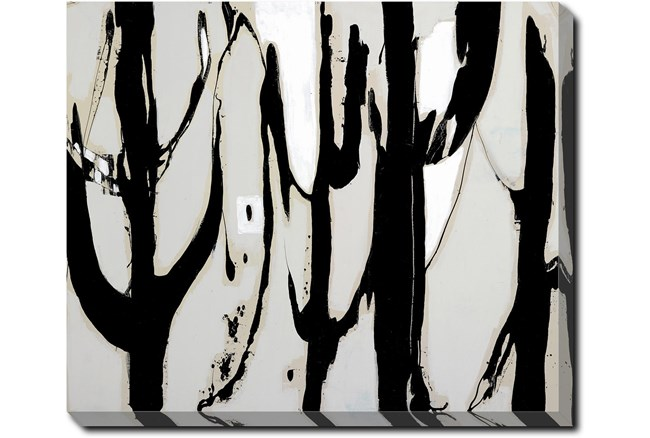24X20 Desert Trees With Gallery Wrap Canvas - 360