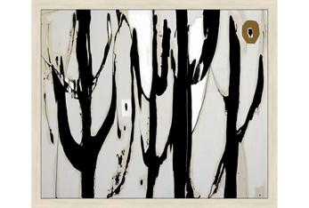 26X22 Desert Trees With Birch Frame