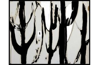 42X52 Desert Trees With Black Frame