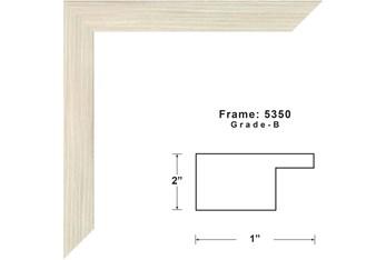52X42 Desert Trees With Birch Frame
