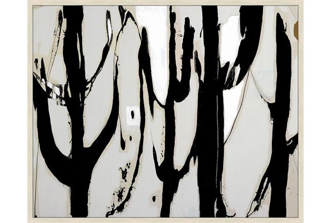52X42 Desert Trees With Birch Frame  - 360