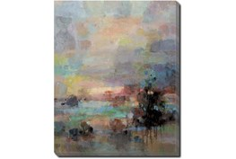 40X50 Colors Of Dusk I With Gallery Wrap Canvas