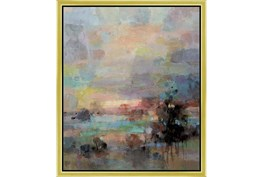 22X26 Colors Of Dusk I With Gold Frame