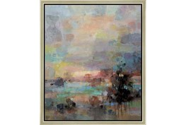 22X26 Colors Of Dusk I With Champagne Frame