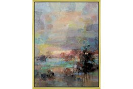 32X42 Colors Of Dusk I With Gold Frame
