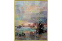 42X52 Colors Of Dusk I With Gold Frame