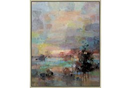 42X52 Colors Of Dusk I With Champagne Frame