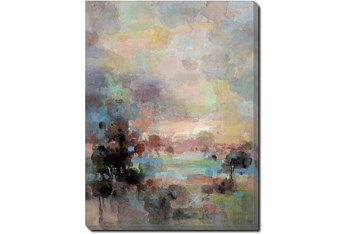 30X40 Colors Of Dusk II With Gallery Wrap Canvas