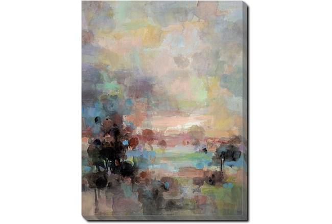 30X40 Colors Of Dusk II With Gallery Wrap Canvas - 360