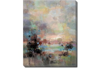 40X50 Colors Of Dusk II With Gallery Wrap Canvas