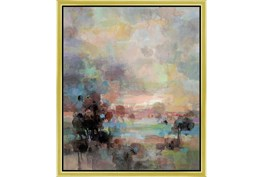 22X26 Colors Of Dusk Ii With Gold Frame