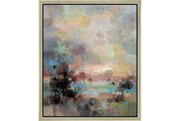 22X26 Colors Of Dusk Ii With Champagne Frame