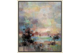22X26 Colors Of Dusk Ii With Birch Frame