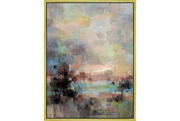 32X42 Colors Of Dusk Ii With Gold Frame