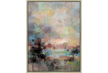 32X42 Colors Of Dusk Ii With Champagne Frame