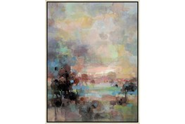 32X42 Colors Of Dusk Ii With Birch Frame