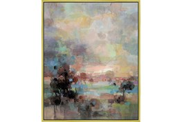 42X52 Colors Of Dusk Ii With Gold Frame