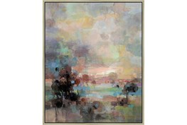 42X52 Colors Of Dusk Ii With Champagne Frame