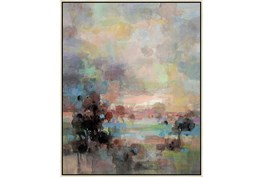 42X52 Colors Of Dusk Ii With Birch Frame