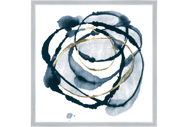 26X26 Delicate Dance With Silver Frame  - 360