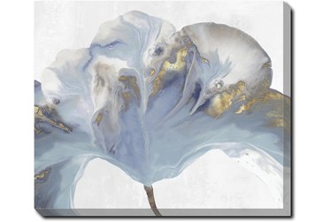 24X20 Flowing Floral II With Gallery Wrap Canvas