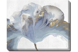 50X40 Flowing Floral II With Gallery Wrap Canvas