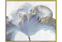 42X52 Flowing Floral II With Gold Frame