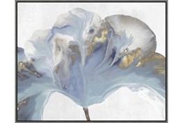 42X52 Flowing Floral II With Grey Frame