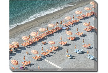 40X50 On Positano Time With Gallery Wrap Canvas