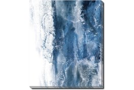 20X24 Abstract Ocean's Breath With Gallery Wrap Canvas