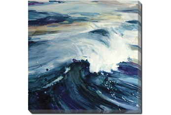 24X24 Point Break With Gallery Wrap Canvas