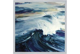 26X26 Point Break With Silver Frame