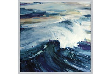 38X38 Point Break With Silver Frame
