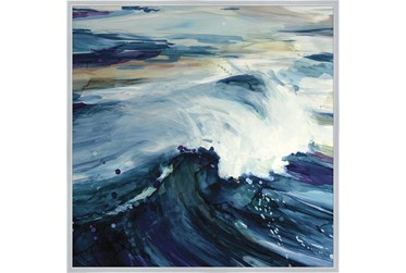 47X47 Point Break With Silver Frame