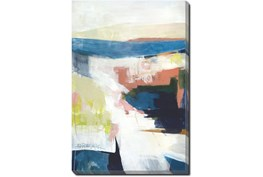 20X24 Abstract Road Less Traveled With Gallery Wrap Canvas