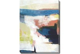 30X40 Abstract Road Less Traveled With Gallery Wrap Canvas