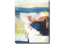 40X50 Abstract Road Less Traveled With Gallery Wrap Canvas