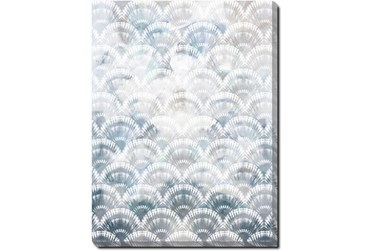 30X40 Soft Scallop With Gallery Wrap Canvas