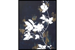 32X42 White Nights With Black Frame