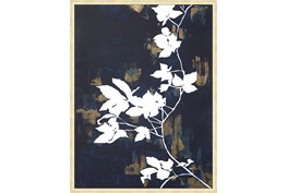 32X42 White Nights With Gold Champagne Frame