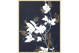 42X52 White Nights With Gold Champagne Frame