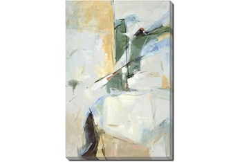 30X40 Abstract View Into The Valley With Gallery Wrap Canvas