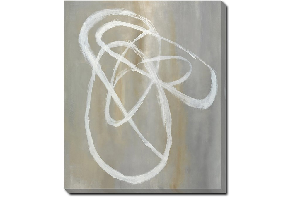 20X24 Abstract Swish With Gallery Wrap Canvas