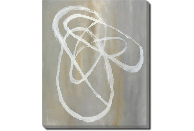 20X24 Abstract Swish With Gallery Wrap Canvas - 360