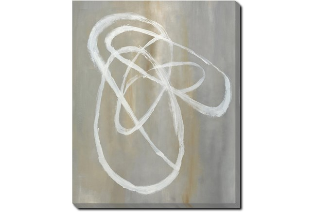 40X50 Abstract Swish With Gallery Wrap Canvas - 360