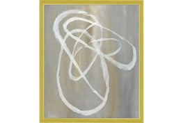22X26 Abstract Swish With Gold Frame